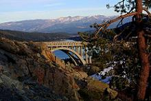 Donner Lake from Rainbow Bridge in Truckee California
